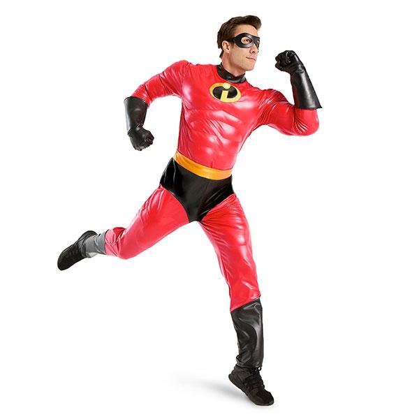 インクレディブル・ファミリー 男性用 コスチューム 衣装 ピクサー Mr.インクレディブル 通常便は送料無料