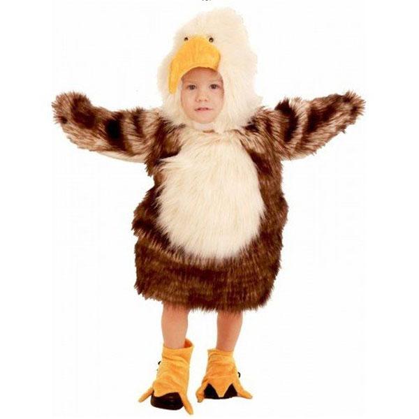 赤ちゃん用 コスプレ バッド イーグル コスチューム 衣装 鷲 動物 鳥 ハロウィン 写真撮影 通常便は送料無料