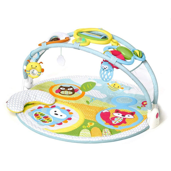 スキップホップ ベビー 赤ちゃん ジム アメージングアーチ スマホ スキップホップジム プレイマット 通常便は送料無料
