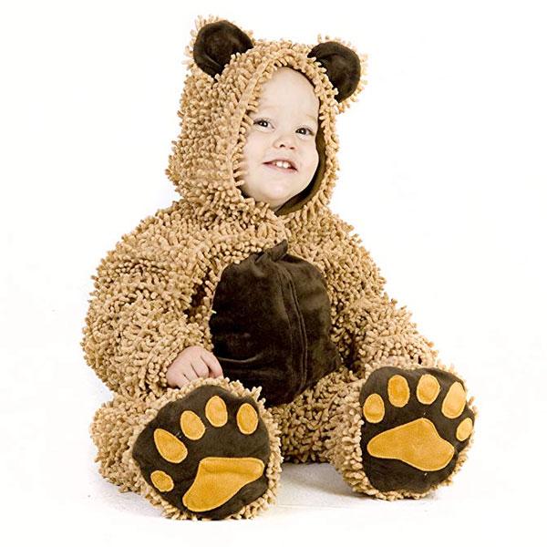 テディーベアー 子供用 コスチューム 衣装 もふもふ ふわふわ かわいい 記念写真 ハロウィン 仮装 コスプレ 通常便は送料無料
