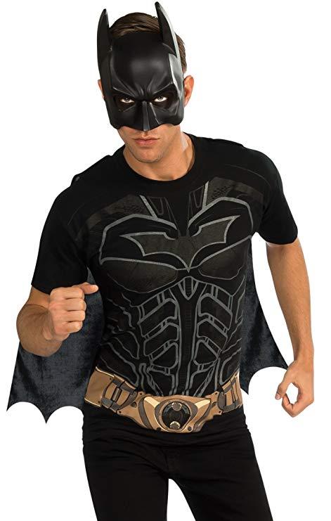 バットマン Tシャツ メンズ コスプレ コスチューム マスク付き