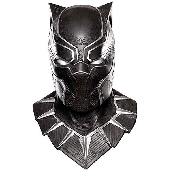 ブラックパンサー オーバーヘッド ラテックス マスク 仮面 大人 男性用 コスプレ 仮装 ハロウィン シビルウォー キャプテンアメリカ 通常便は送料無料