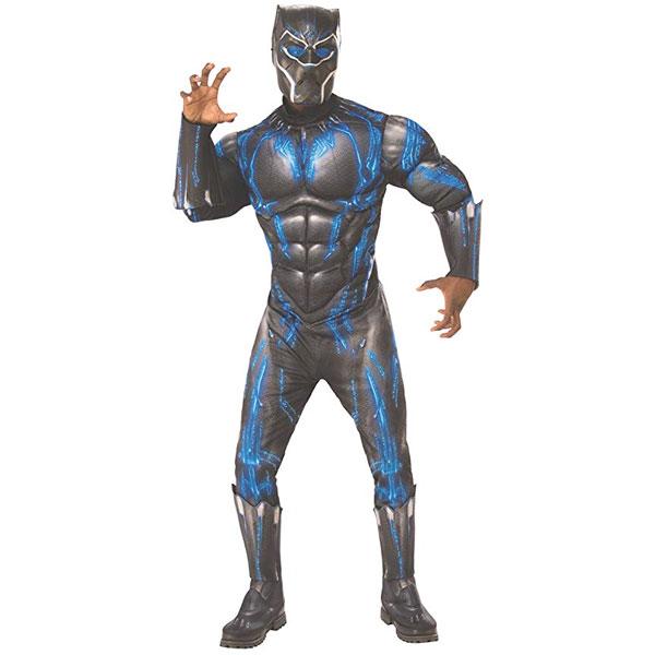 ブラックパンサー バトルスーツ コスチューム 大人 男性用 コスチューム 衣装 コスプレ 仮装 ハロウィン シビルウォー キャプテンアメリカ 通常便は送料無料
