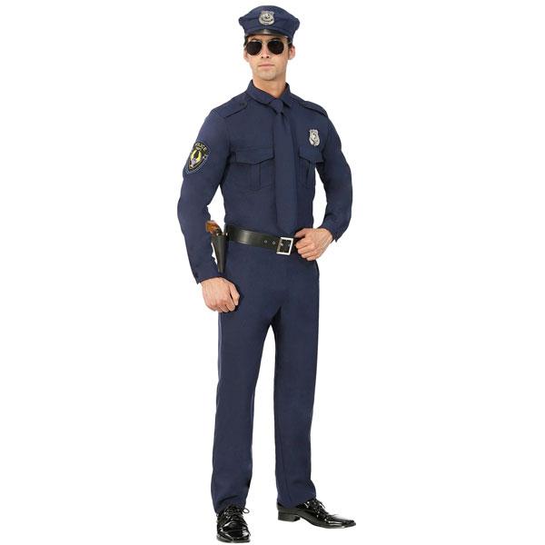 ポリス コスチューム 警察官 ハロウィン コスプレ 演劇 舞台 イベント パーティー メンズ 大人 通常便は送料無料