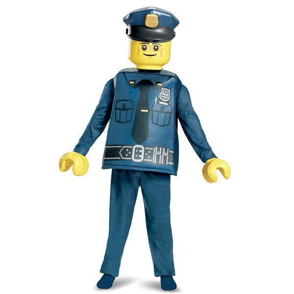 レゴ おまわりさん コスチューム デラックス LEGO ポリス 警察官 ハロウィン コスプレ キッズ 子供 楽しい おもしろい 衣装 通常便は送料無料