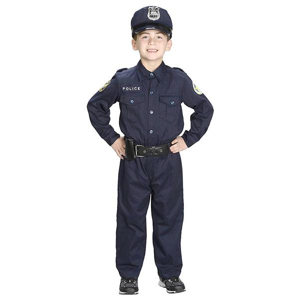 ポリス コスチューム 警察官 ハロウィン コスプレ 舞台 演劇 イベント パーティー キッズ 子供 衣装 通常便は送料無料