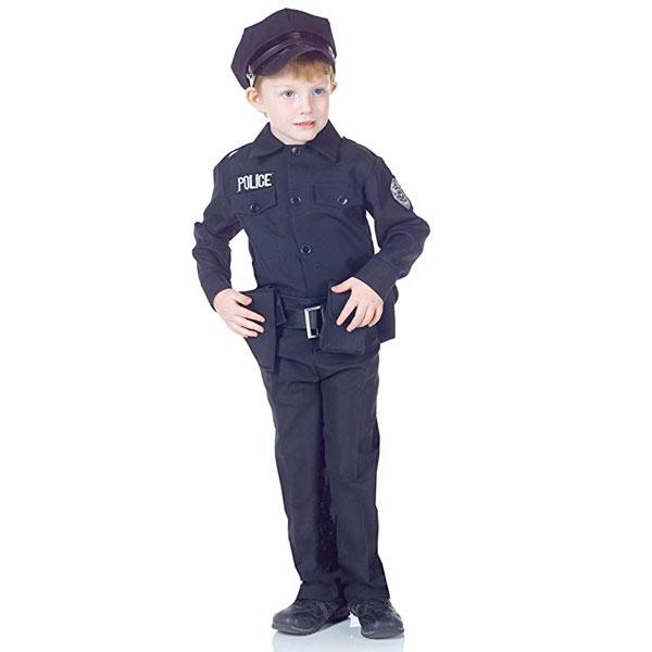 ポリス コスチューム 警察官 ハロウィン コスプレ 演劇 舞台 イベント パーティー キッズ 子供 通常便は送料無料