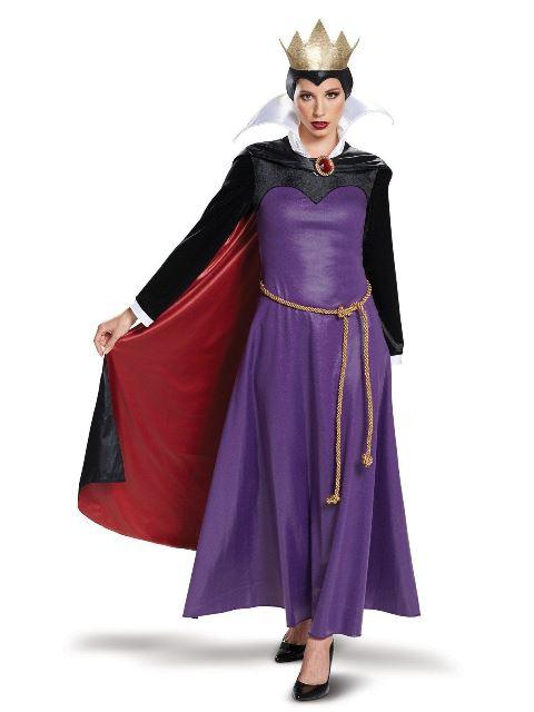 魔女 継母 コスチューム ディズニー ヴィランズ 白雪姫 ウィックドクイーン ハロウィン コスプレ レディース 大人 2018年10月下旬入荷予定