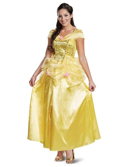 ベル コスチューム ドレス 美女と野獣 ハロウィン コスプレ イベント パーティー 衣装 レディース 大人