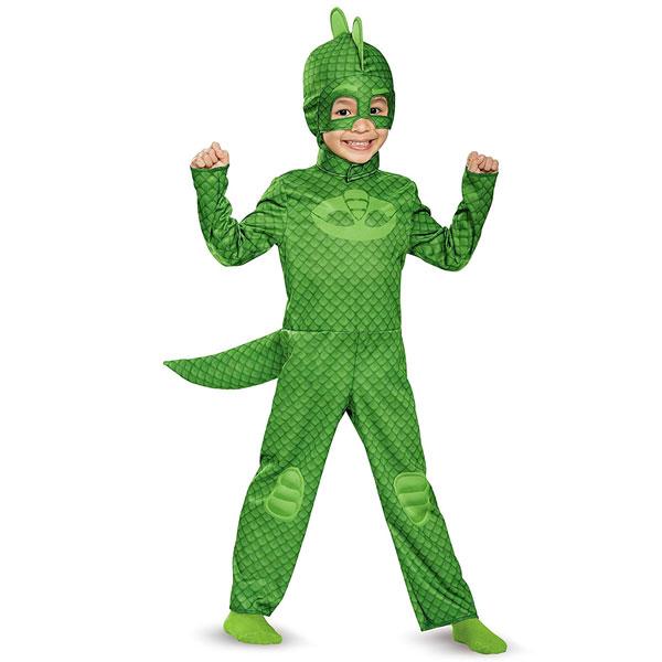 ゲッコー グレッグ コスチューム しゅつどう!パジャマスク ハロウィン コスプレ 子供 幼児 キッズ 衣装