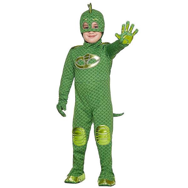 ゲッコー コスチューム しゅつどう!パジャマスク ハロウィン コスプレ 幼児 子供 キッズ 衣装