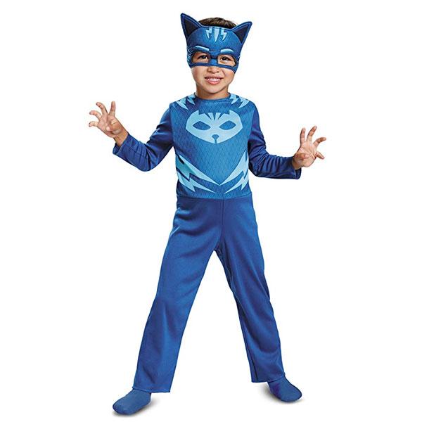 キャットボーイ コスチューム しゅつどう!パジャマスク ハロウィン コスプレ 子供 幼児 キッズ 衣装