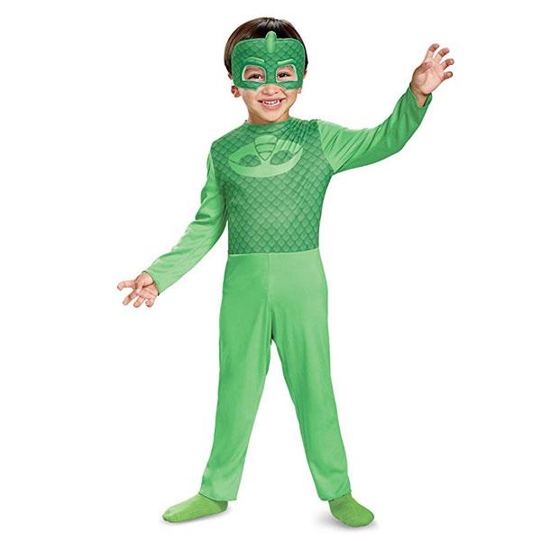 ゲッコー コスチューム しゅつどう!パジャマスク ハロウィン コスプレ 子供 幼児 キッズ 衣装