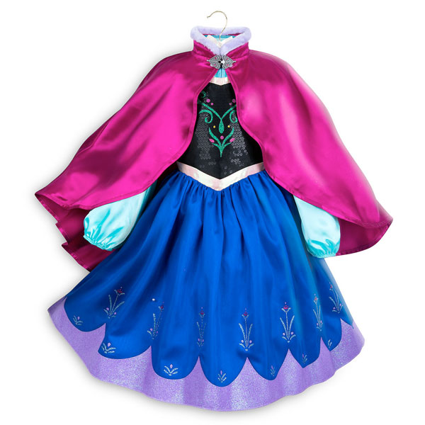 アナと雪の女王 アナ 子供用 コスチューム 衣装 プリンセス ハロウィン ディズニー コスプレ 仮装 通常便は送料無料