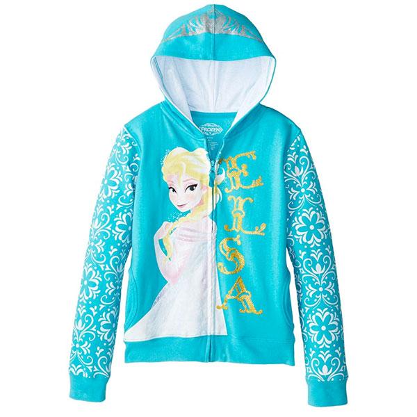 アナと雪の女王 エルサ パーカー フーディー ジャケット ディズニー ディズニー プリンセス 通常便は送料無料