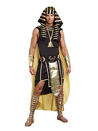エジプト 衣装 メンズ ツタンカーメン 王 ゴールド コスチューム 仮装 コスプレ
