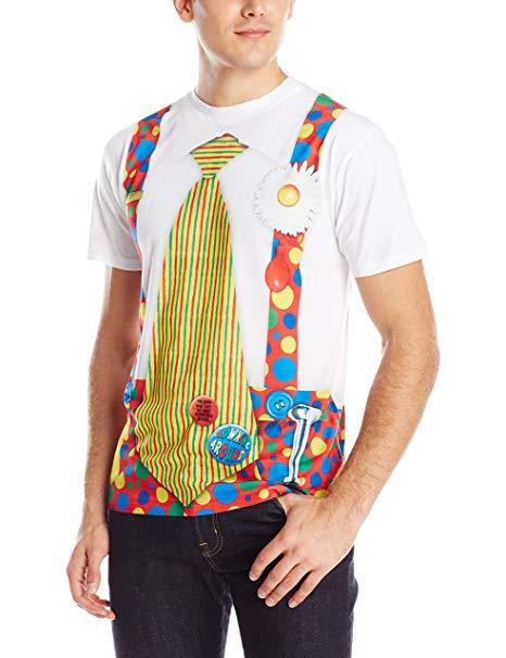 おもしろTシャツ メンズ いたずらハロウィン 半袖 コスプレ おもしろt