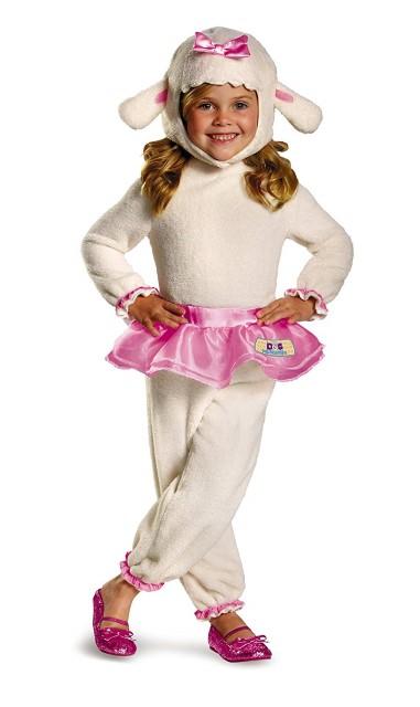 ラミー コスチューム ドックはおもちゃドクター ハロウィン コスプレ 衣装 ヒツジ ぬいぐるみ 幼児 子供