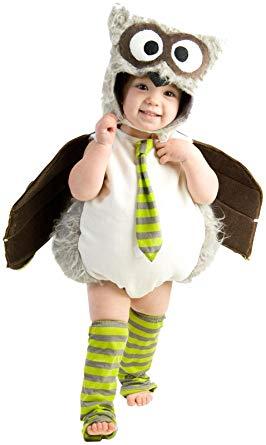 フクロウ コスチューム 着ぐるみ ハロウィン イベント 動物 デラックス 衣装 幼児 子供
