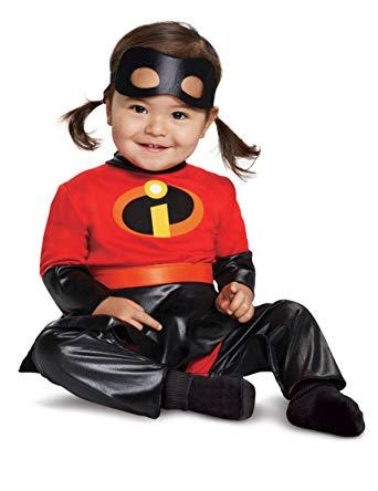 ヴァイオレット デラックス コスチューム インクレディブル バイオレット ハロウィン コスプレ 衣装 イベント パーティー ベビー 赤ちゃん 幼児 子供
