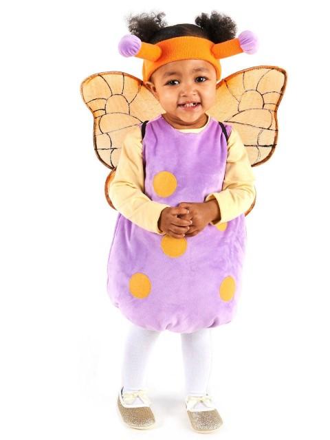 マジカル バタフライ 魔法の蝶 コスチューム ハロウィン コスプレ 衣装 イベント 仮装 記念 写真 赤ちゃん ベビー 幼児 子供