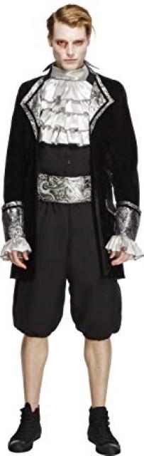 バロック 吸血鬼 コスチューム ハロウィン 貴族 コスプレ 衣装 仮装 大人 男性 メンズ