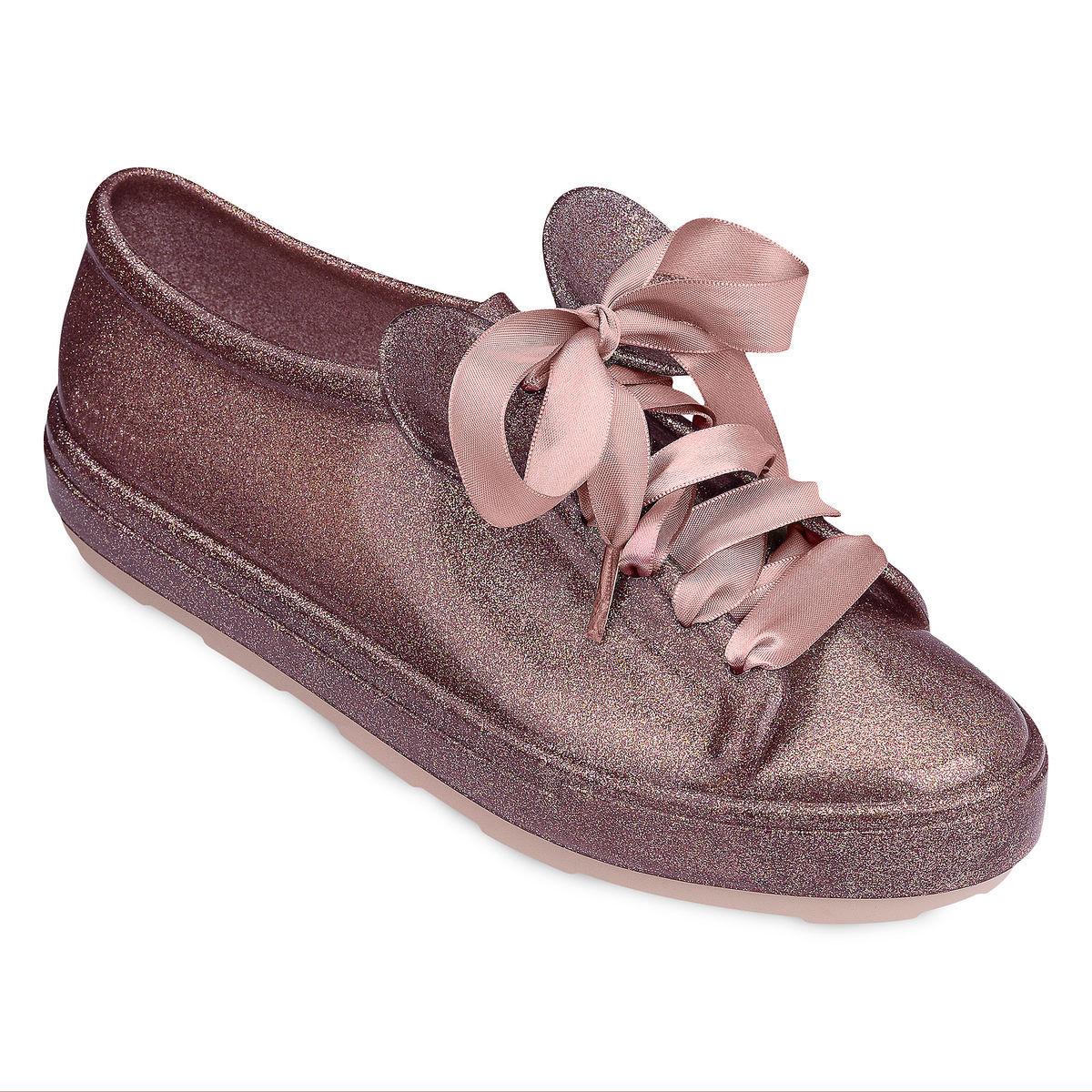 ミニー マウス スニーカー ローズゴールド 子供 靴 ディズニー