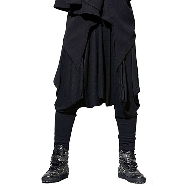 choose official best wholesaler buying now The harem pants black 80's 80s MC rapper MC Hammer dance Halloween HIPHOP  costume clothes disguise Halloween normal flight