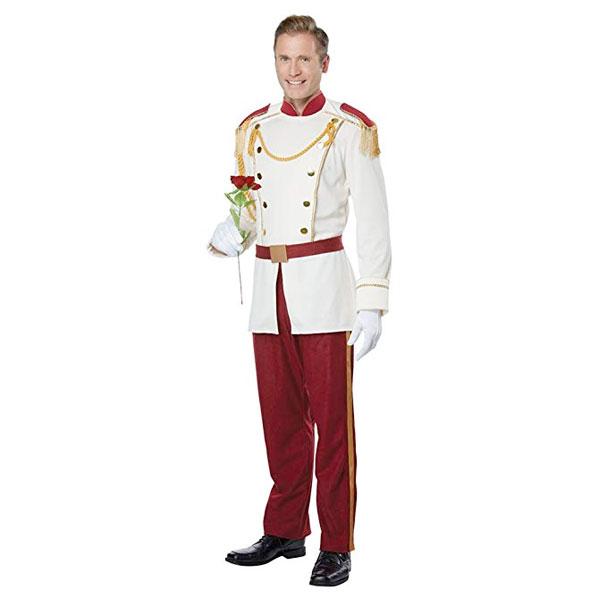王子様 大人用 男性 コスチューム ロイヤル プリンス 衣装 コスプレ子供 ディズニー ハロウィン 仮装 通常便は送料無料