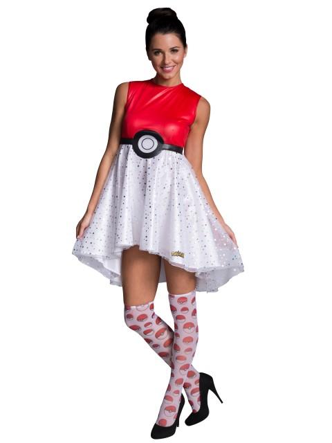 モンスターボール コスチューム ポケモン ハロウィン 仮装 イベント 衣装 パーティー 大人 レディース