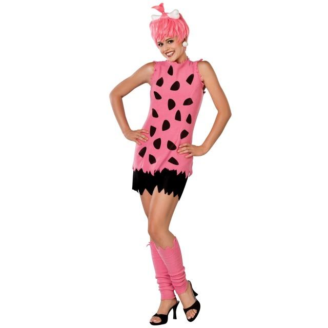 ペブルス コスチューム 原始家族 フリントストーン 原始人 ハロウィン 仮装 コスプレ 衣装 イベント パーティー 大人 レディース
