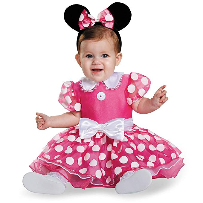 ミニー コスチューム ベビー ディズニー コスプレ ベビーミニー マウス コスチューム ディズニー ハロウィン 仮装 イベント 衣装 パーティー 記念 写真 ベビー 幼児 子供