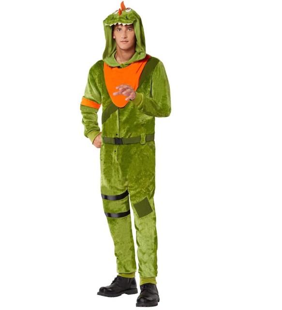 レックス コスチューム フォートナイト Fortnite ゲーム ハロウィン コスプレ イベント 衣装 ティーン 大人