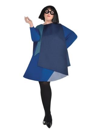 エドナ コスチューム インクレディブル ファミリー コスプレ 衣装 ハロウィン 仮装 イベント パーティー 大人 レディース プラスサイズ 大きい サイズ