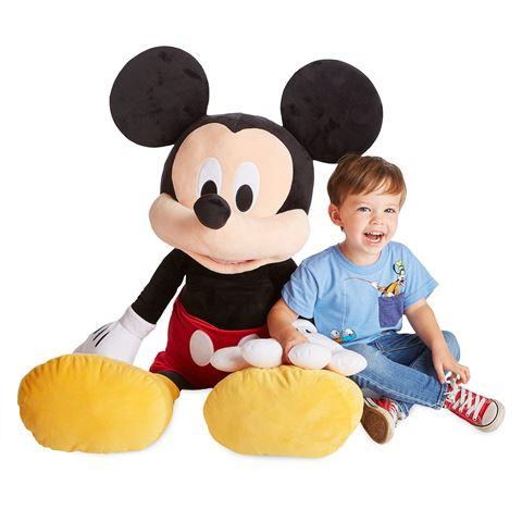 ミッキー マウス ジャンボ ぬいぐるみ ディズニー クリスマス プレゼント 誕生日 ギフト 巨大 びっくり 大きい 人形