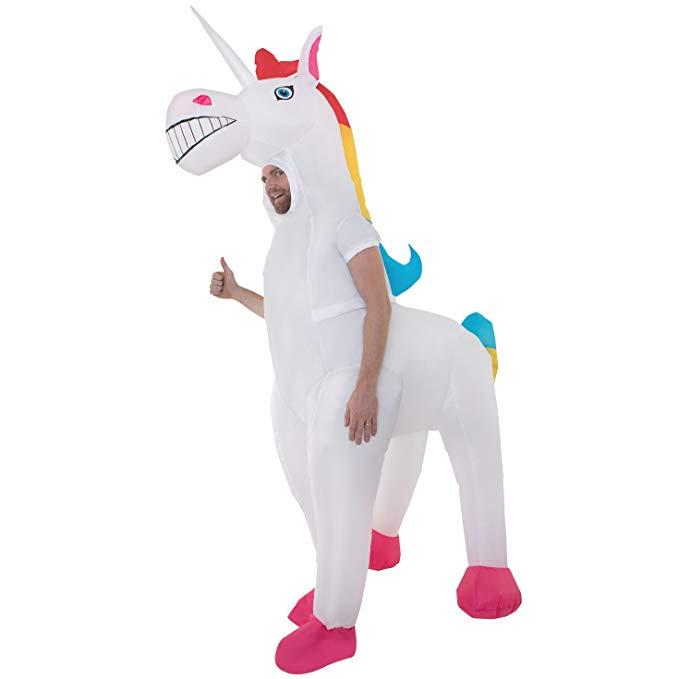ユニコーン 馬 衣装 仮装 おもしろ コスチューム 膨らむ 着ぐるみ 大人用