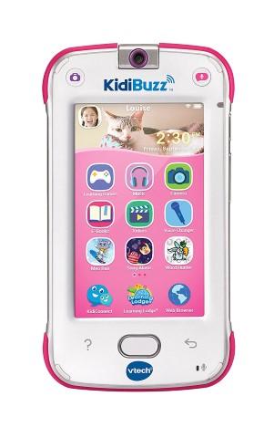 VTech KidiBuzz ピンク 子供 英語 マルチメディア デバイス 携帯 英語 学習 クリスマス ギフト 誕生日 プレゼント