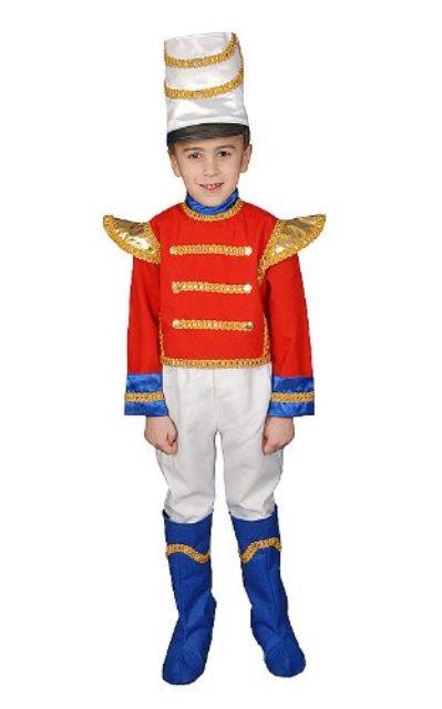 おもちゃの兵隊 マーチングバンド 子供用 衣装 デラックス コスチューム パレード コスプレ ハロウィン