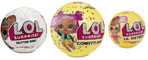 L.O.L. サプライズ! 3種セット グリッター コンペティーポップ リルシスターズ クリスマス プレゼント おもちゃ 人形 l.o.l サプライズ lolサプライズ