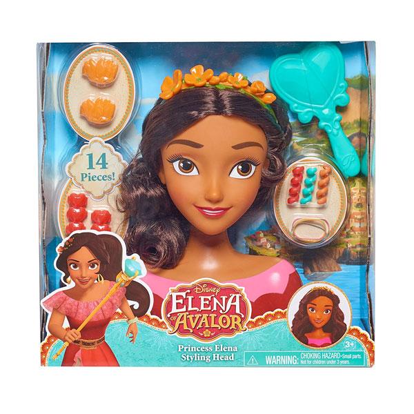 アバローのプリンセス エレナ スタイリング ヘッド ドール ディズニー おしゃれ おもちゃ 通常便は送料無料