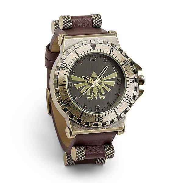 ゼルダファン、父の日のギフトプレゼントにレザーウォッチ ゼルダの伝説 腕時計 レザー ウォッチ 父の日 ギフト プレゼント