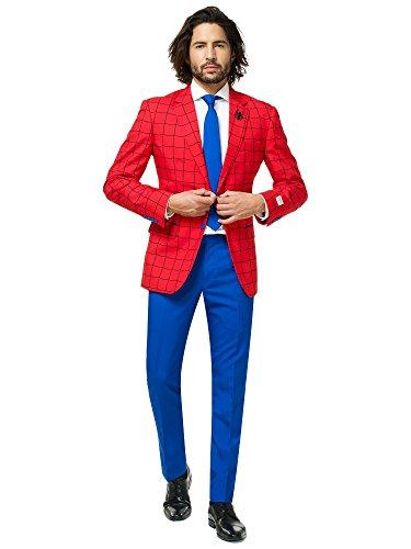 オッポスーツ スパイダーマン スーツ アベンジャーズ マーベル コミック オフィシャル メンズ 大人 派手 目立つ