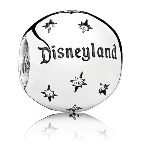 ディズニーランド リゾート ロゴ チャーム ディズニー ジュエリー アクセサリー スターリング銀製 PANDORA ブレスレット グッズ