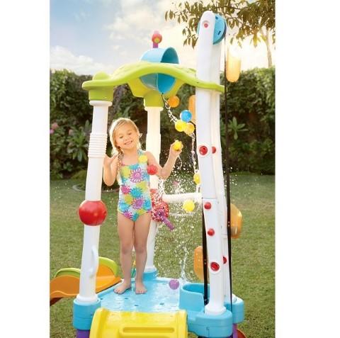 水遊び リトルタイクス タワー 子供基地 滑り台 水鉄砲