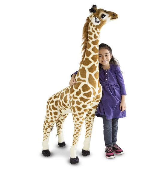 キリン ぬいぐるみ 特大 動物 人形 おもちゃ リアル 大きい メリッサ&ダグ Melissa & Doug