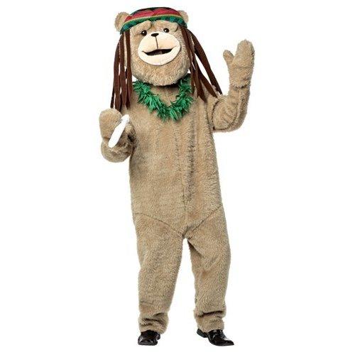 TED テッド 着ぐるみ用 ラスタ帽 大人 コスチューム コスプレ 衣装 ドレッドヘアー レイ セット