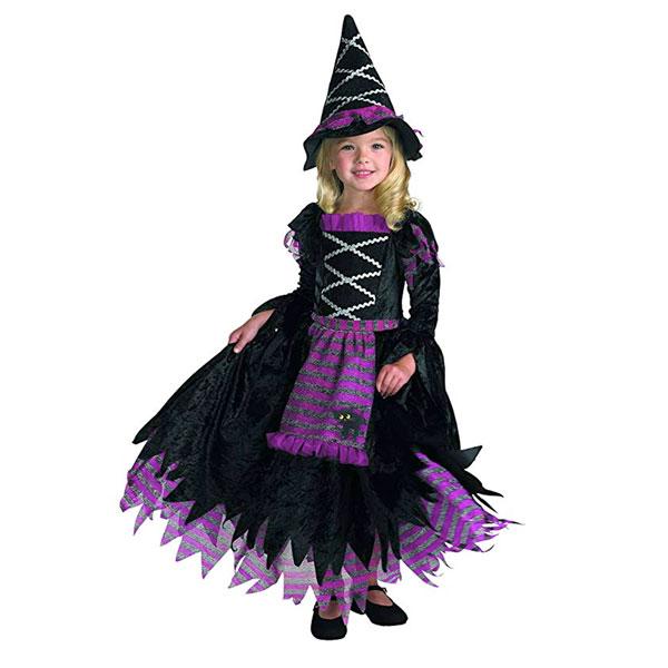 かわいい 魔女 コスチューム ハロウィン コスプレ イベント パーティー 子供 女の子 通常便は送料無料