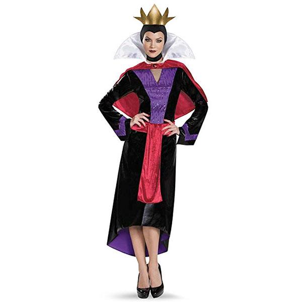 魔女 エビルクイーン コスチューム 白雪姫 継母 ハロウィン 衣装 コスプレ 仮装 イベント パーティー ディズニー 大人 レディース 通常便は送料無料