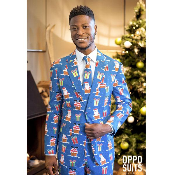 オッポスーツ クリスマス プレゼント 派手 メンズ スーツ クリスマス 大人 パーティー 通常便は送料無料