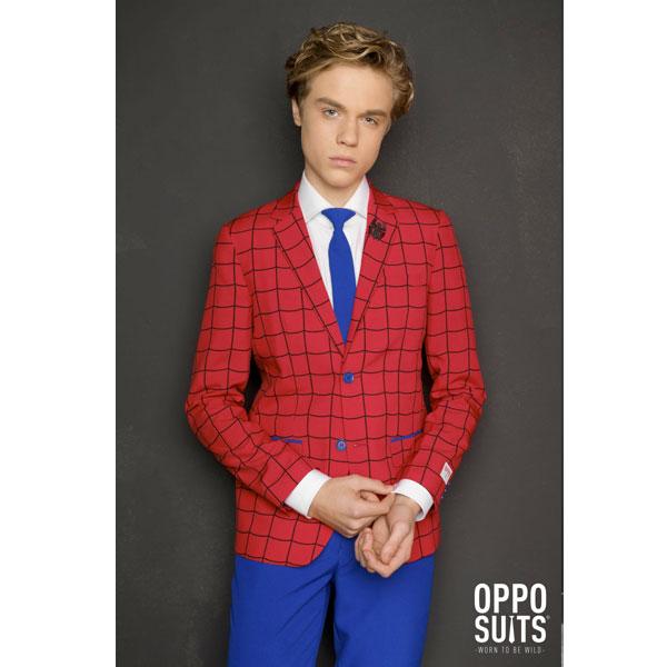 オッポスーツ スパイダーマン 派手 ティーンズ スーツ 子供 パーティー アメコミ 衣装 通常便は送料無料